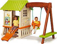 """Детский игровой домик-площадка """"Винни"""" SMOBY"""