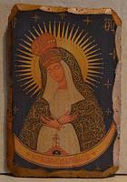 Фреска Богородица Остробрамская