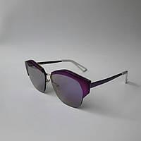 Женские солнцезащитные очки Dior фиолетовые