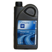 Оригинальное моторное масло полусинтетика GM 10W-40 (2л.)