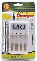 Зарядное устройство для аккумуляторов UFO KN-8003 + 2 аккумулятора UFO HR6 Ni-MH 2500 mAh, фото 1