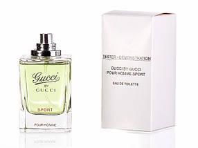 Gucci by Gucci Sport Pour Homme туалетная вода 90 ml. (Тестер Гуччи Бай Гуччи Спорт), фото 2