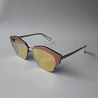 Женские солнцезащитные очки Dior розовые