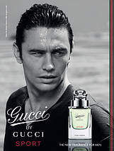 Gucci by Gucci Sport Pour Homme туалетная вода 90 ml. (Тестер Гуччи Бай Гуччи Спорт), фото 3