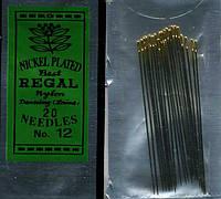 Иглы для вышивки бисером №11,12 (20 шт в упаковке)