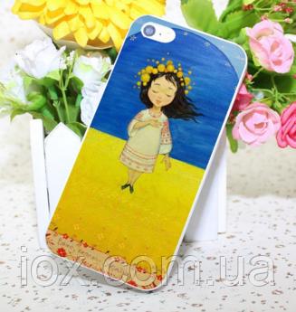 Пластиковый чехол Украина для Iphone 6/6S