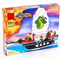 Конструктор Brick  Пиратский корабль 301, фото 1