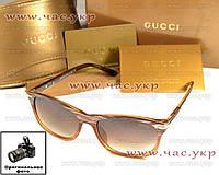 Женсчкие солнцезащитные очки Gucci классика Гуччи классический стиль элегантный дизайн мода 2016 качество