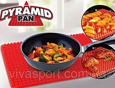 Кухонный силиконовый коврик для выпечки Пирамидка Pyramid Pan, Пирамид Пен коврик для духовки