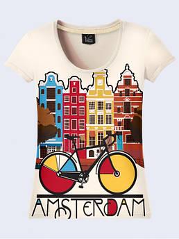 Футболка женская Амстердам