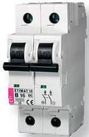 Автоматический выключатель ETIMAT 10 DC 2p С 1А (6 kA)