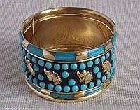 """Комплект браслетов """"Слоники"""". Индийские украшения"""
