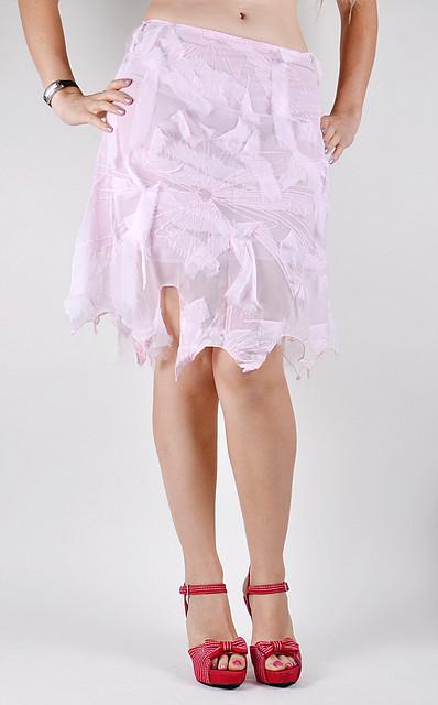Женская юбка на подкладке (A09R)   5 шт.