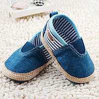 Детские пинетки-мокасины.Туфли  для новорожденных., фото 1