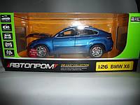 """Машина металл """"АВТОПРОМ"""" BMW X6, фото 1"""