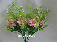 Искусственный  букет коровяк (цвет розовый)