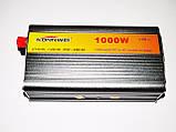 Перетворювач напруги(інвертор) 12-220V 1000W, фото 2