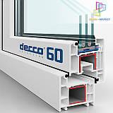 Металлопластиковые окна Decco 60, Decco 70, Decco 82 киев.