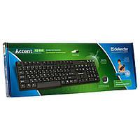Клавиатура Defender Accent 930 USB Black