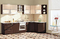 "Кухня ""Софт КХ-75 3,0х1,7м."" (Комфорт-Мебель)"