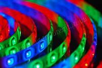Светодиодная лента SMD 5050 (54 LED/m) RGB RW 3LED IP54