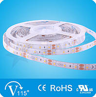 Синяя  6,0W SMD3528 (60 LED/м) (blue) 470nm Outdoor IP65 Rishang Premium