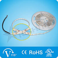 Нейтрально-белая SMD3528 (120 LED/м) 4300-4600K (9,0W/м)  IP33 Indoor Rishang