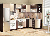 "Кухня ""Софт КХ-78 2,63х1,7м."" (Комфорт-Мебель)"