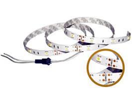 Стрічка світлодіодна 7,2 W SMD5050 Теплий білий (30 LED/м) Indoor IP33