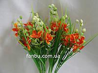 Искусственный  букет коровяк (цвет оранжевый)