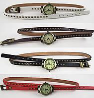 Наручные часы-браслет женские с длинным ремешком