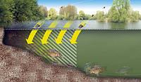 Топографо-гідрографічна зйомка дна водойми з прибережною територією
