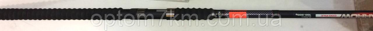 Спиннинг Weida Black Arrow 100-300 длиной 2,7 метра