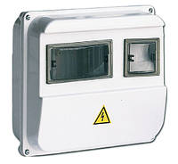 Корпус пластиковый ЩУРн-П  1/ 3 для 1-ф счетчика навесной 220х270х110 IP55 IEK