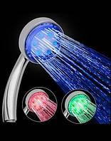 Светодиодная LED лейка для душа с термометром