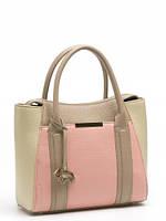 Стильная сумка женская кожаная в 2х цветах L-DL90740
