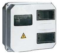 Корпус пластиковый  ЩУРн-П  1/12 для 1-ф счетчика навесной 270х330х110 IP55 IEK