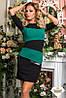 Женское платье креп 6 расцветок , фото 4