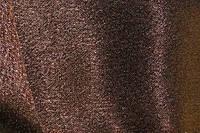 Креп-сатин  темно коричневый