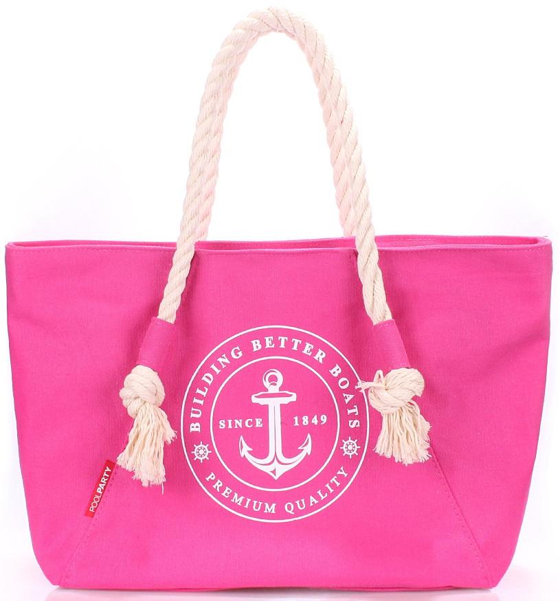 Женская коттоновая сумка POOLPARTY pool-breeze-pink