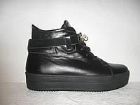 Ботиночки-криперсы женские на толстой подошве Hermes