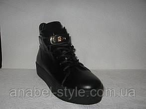 Ботиночки-криперсы женские на толстой подошве Hermes, фото 2