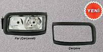 Накладка на фару (рамка) MAN TGA левая