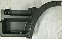 Пластиковая подножка левая Actros MPII