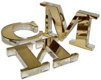 Объемные надписи и буквы из нержавеющей стали
