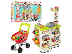 Игровой набор Супермаркет с тележкой Home 668-03