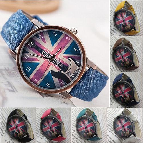 """Часы наручные с британским флагом """"God save the QUEEN"""" - Боже храни королеву! - Интернет-маркет """"Прикраса"""" в Черкасской области"""
