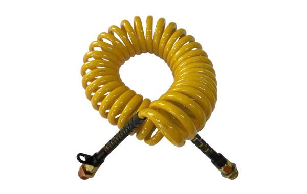 Шланг пневматический полиуретановый 5м.,М22 желтый