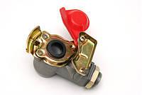 Разьем пневматический без клапана М22 красный