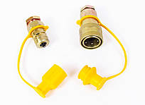 Эвроклапан повітряний жовтий М22